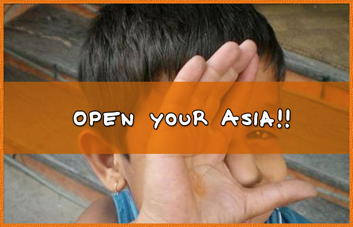 Open your Asia!!